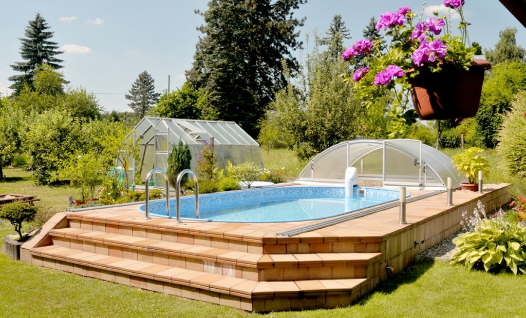 Make Your Neighbors Jealous Get An Above Ground Swimming Pool Albixon