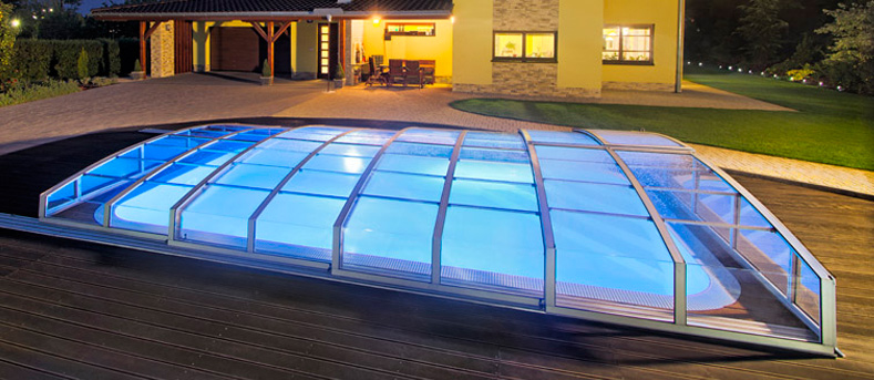 Pool enclosures albixon for Plexiglass pool enclosure
