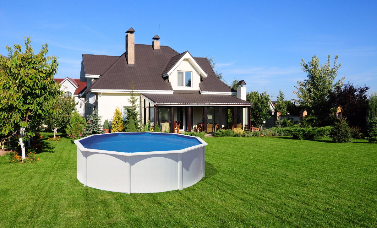 Above Ground Pool Landscaping Ideas | ALBIXON