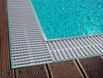 overflow sharp rectangle swimming pool